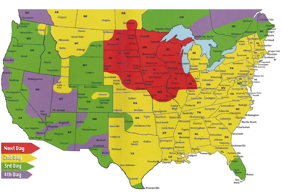 The Travelling Presidential Candidate Map Postal Codes United - Map to us